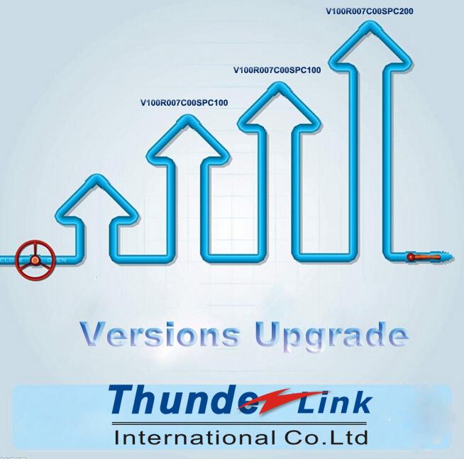 upgrade version on osn8800