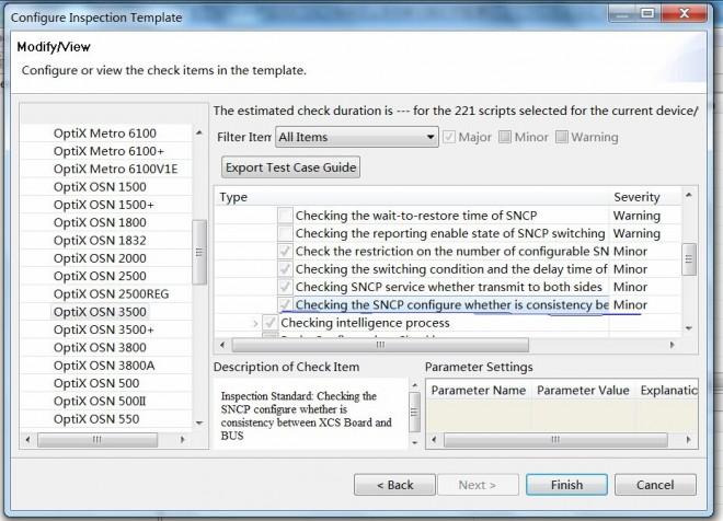 OptiX OSN 1500 2500 35007500 configuration data