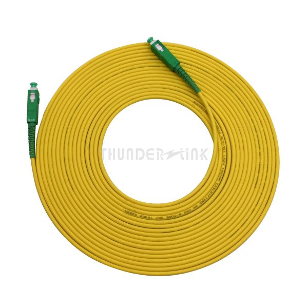 20M 2mm SC/APC to SC/APC single mode fiber patch cord